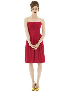 Alfred Sung Style D650 http://www.dessy.com/dresses/bridesmaid/d650/#.UrdeR_RDuG8