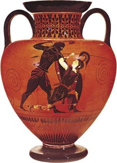Achilles; Penthesilea [Credit: Courtesy of the trustees of the British Museum]