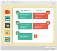 Articulate Rapid E-learning Blog - free icons free elearning example