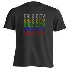 Retro Hometown - Dale-City, VA 22193 - Black - Small - Vintage - Unisex - T-Shirt