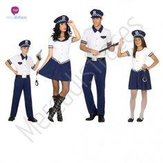 Disfraz de #Policía para niña #disfraces para #grupos #comparsas en #mercadisfraces.es tu #tienda de #disfraces #online
