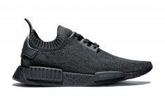 "adidas Unveils Limited Edition NMD_R1 Primeknit ""Pitch Black"""