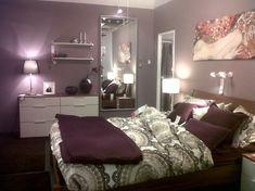 Purple Shades Perfect Bedroom Decorating Ideas