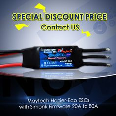 Maytech special prices for deaers in September. Please conntact us. Skype: maytech.rc