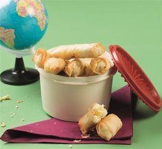 Φλογέρες με τυρί Finger Food Appetizers, Finger Foods, Food Styling, Pudding, Cheese, Cooking, Breakfast, Desserts, Recipes