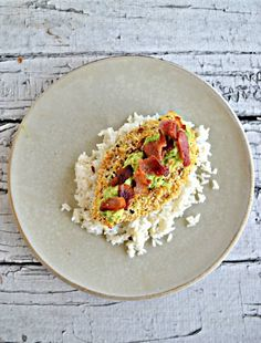Flavorful Everything But the Bagel Avocado Chicken over rice is an easy to make weeknight meal ready in 30 minutes. #chickenrecipes #avocadorecipes #everythingbutthebagel | Chicken Recipes | Easy Recipes | Weeknight Recipes | Weeknight winners | Avocado Recipes | Bacon Recipes | Everything But the Bagel Recipes Bacon Recipes, Avocado Recipes, Turkey Recipes, Delicious Recipes, Easy Recipes, Easy Meals, Chicken Recipes At Home, Chicken Over Rice, Avocado Chicken