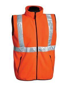 7115a65ccb Tri-mountain Safety Workwear Men s Perimeter Micro Fleece Vest