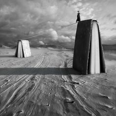 Polish photographer Dariusz Klimczak constructs surreal landscapes through clever manipulation. Each image in the skilled photo editor's growing Surrealism Photography, Conceptual Photography, Fine Art Photography, Photomontage, Poesia Visual, Surreal Photos, Surreal Artwork, Photo D Art, Montage Photo