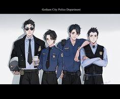 9/20/17  7:38a  DC  The Bat Boy Gotham City Police Squad  Commissioner Gordon Hired  Batman's Boys