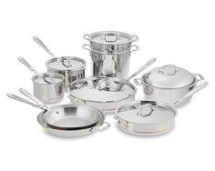 All-Clad Copper Core 15-Piece Cookware Set | Williams-Sonoma