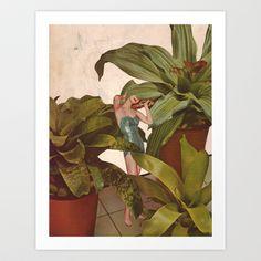 FOLIAGE+Art+Print+by+Beth+Hoeckel+Collage+&+Design+-+$18.00