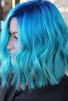 Bold Options of Blue Hair Color ★ See more: http://lovehairstyles.com/blue-hair/