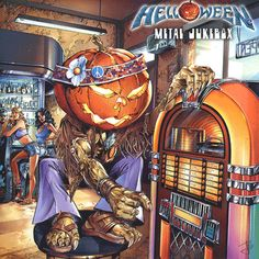Helloween Metal Jukebox Animated