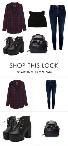 """""""Untitled #6"""" by blackishappycolour ❤ liked on Polyvore featuring Rails, River Island and Alexander McQueen"""