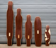 Simple Longboards, The Netherlands - simply beautiful dark wood