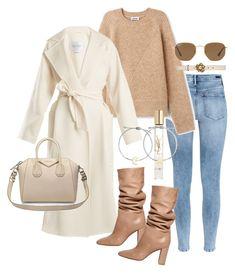 """Untitled #23079"" by florencia95 ❤ liked on Polyvore featuring H&M, MaxMara, Gianvito Rossi, Givenchy, Gucci, Yves Saint Laurent, Madewell and Ray-Ban"