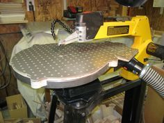 Scrollsaw dust collection