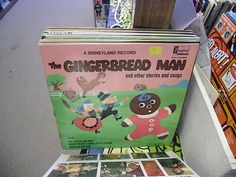 Gingerbread Man and Other Stories vinyl LP 1969 Disneyland Records EX Disney
