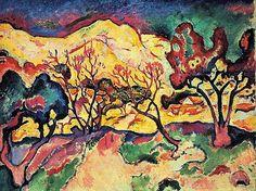 Georges Braque, Landscape at L'Estaque
