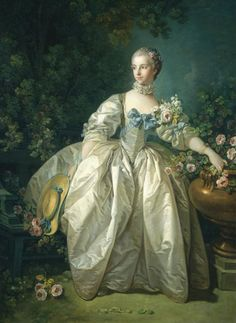 François Boucher, Madame Bergeret. Oil on canvas, 1746. The National Gallery of Art (Washington, D.C.).