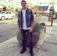 Buffalo Denim Jacket and Levi's Jeans