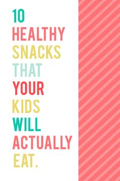 10 Healthy Summer Snacks for Kids