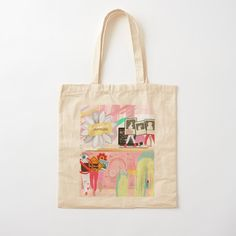 Printed Tote Bags, Cotton Tote Bags, Reusable Tote Bags, Pouch Bag, Pouches, Best Tote Bags, Pink Abstract, Back To School, Mothers