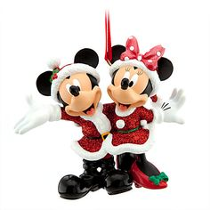 Mickey and Minnie Ornament | Disney's Days of Christmas Ornaments and More | Disney Store
