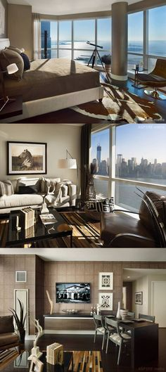 Penthouse suite in 77 Hudson St.