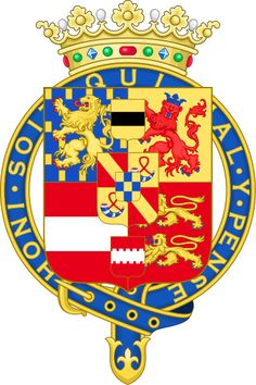 Coat of arms of William Henry, Prince of Orange, Count of Nassau