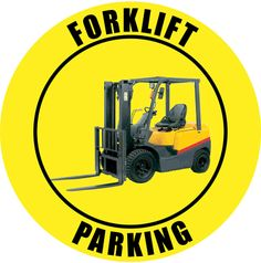 Creative Safety Supply - Forklift Parking - Yellow, $15.00 (http://www.creativesafetysupply.com/forklift-parking-yellow/)