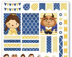 Genio y amigos decoración Kit / extensión semanal por PlannerPenny