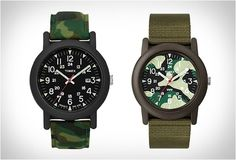 TIMEX CAMPER CAMOUFLAGE | Image