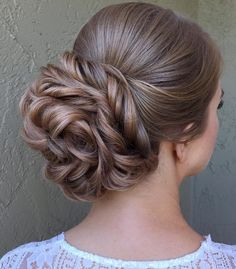Featured Hairstyle: heidimariegarrett of Hair and Makeup Girl; www.hairandmakeupgirl.com/; Wedding hairstyle idea.