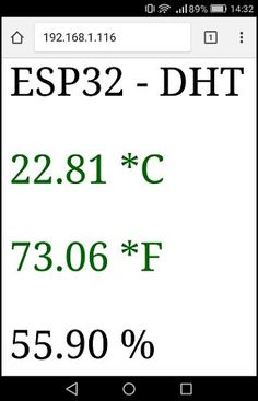 ESP32 DHT22 Web Server Arduino IDE | Random Nerd Tutorials