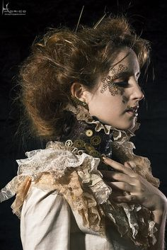 Steampunk fashion by Hidrico, via Flickr