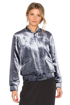 Joe's Jeans Lexi Crop Jacket in Navy | REVOLVE