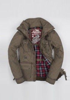 Superdry Blackhawk Quilt Jacket