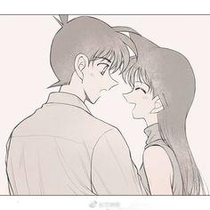 Ran x Shinnichi Conan, Detective, Kudo Shinichi, Magic Kaito, Case Closed, Yang Yang, Anime Ships, Manga Anime, Geek Stuff