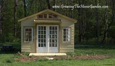 The Garden Shed from The Home Garden: Garden Shed with a Front Porch