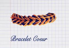 Le bracelet Coeur #crazyloom #rainbowloom