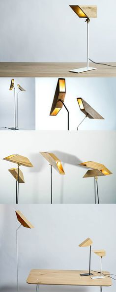 The Wings lamp is one of those designs that is designed with the express intent of not just being a product, but being a pretty product. Designed to look like an abstract pair of wings, the Wings lamp is made of solid oak and is available in table/floor-standing and hanging varieties.Read Full Story at Yanko Design