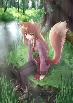 This is one of the most amazing paintings of Holo Ive ever seen!