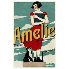 Amelie Movie Art Poster 11x17 (56 HRK) ❤ liked on Polyvore featuring home, home decor, wall art, ship poster, movie star posters, movie wall art, star home decor and star wall art