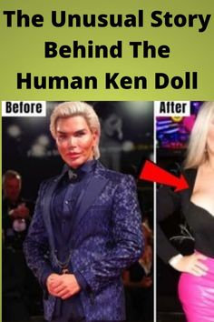 The #Unusual Story #Behind The #Human Ken Doll