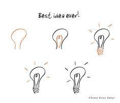 comment faire des dessins simples dans son bullet journal