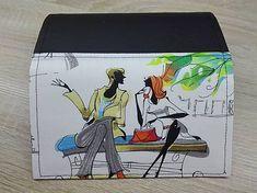 Si.Ma / Peňaženka na 12 kariet,koženka,bavlna Lunch Box