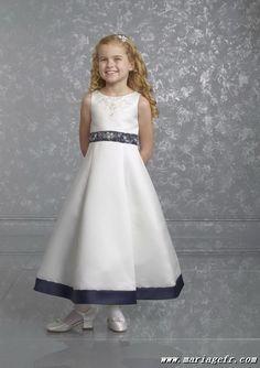 Robe fillette Jottum sur #Zalando #mariage #blanc #fille