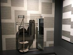 Frag for Sant'Agostino @Cersaie Bak stand mirror design Ferruccio Laviani   CREDIT Styling: Elisa Musso Courtesy of Sant'Agostino
