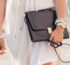Styling A Black Bag. Is It Really That Easy?